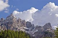 Wolkengebirge über der Cristallogruppe