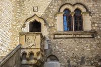 Medieval Palace Palazzo Corvaja, Taormina, Italy