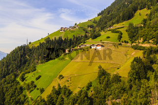 Berg in den Alpen in Südtirol, Italien, mountain in the Alps in South Tyrol, Italy