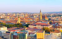 Cluj Napoka skyline, Romania