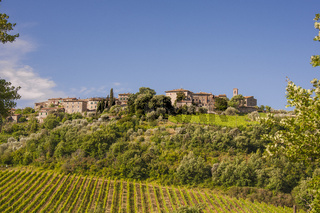 Castelnuovo dell'Abate, Gemeinde Montalcino, Toskana, Italien