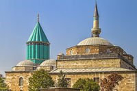 Turkey Konya Mausoleum of Meviana