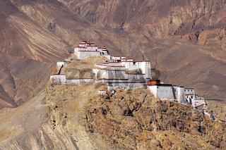 Ancient castle in Tibet