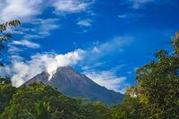 Volcanic landscape of Flores Island
