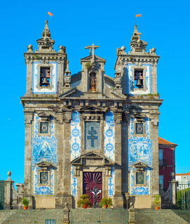 Santo Ildefonso church. Porto, Portugal