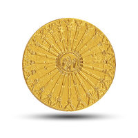 vintage golden fantasy coin