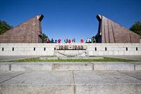 Sowjetisches Ehrendenkmal im Treptower Park Berlin