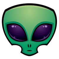 Alien Head Icon