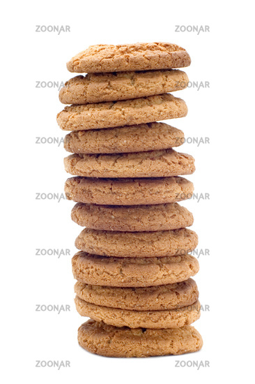 oat pastry tower