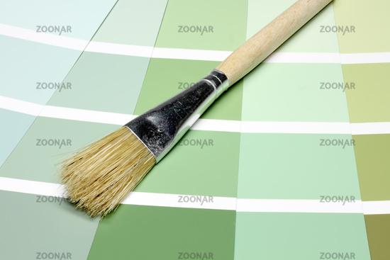 Fassadenfarbe grüntöne  Foto Farbkarten Bild #2415053