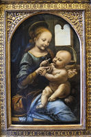 Madonna and Child, The Hermitage, St. Petersburg, Russia