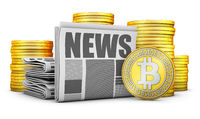 Newspapers and Bitcoins