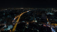 Night life in Bangkok city, Thailand