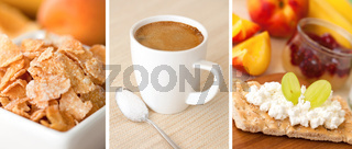 Fruehstueckscollage /Breakfast Collage