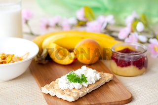 leckeres Fruehstueck /delicious breakfast
