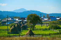 Beautiful village in Romania
