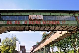 ehemalige Zeche Westfalen in Ahlen Deutschland