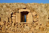 Rethymno Fortezza fortress window