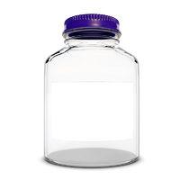 Empty Medical Glass bottle