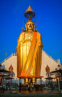 Huge Golden Buddha statue