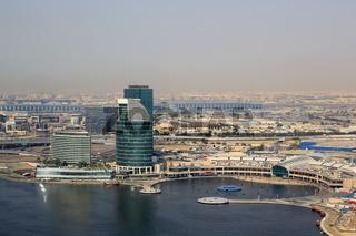Dubai Festival City Luftaufnahme Luftbild