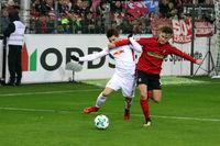 1. BL: 17-18 - 19. Spieltag -  SC Freiburg vs. RB Leipzig