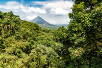 Volcano of Arenal in Costa Rica