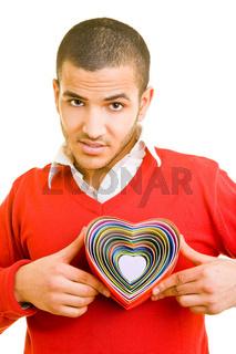 Herz zeigen