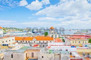 port of havana aerial view