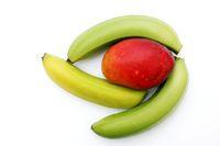 Tropische Fruechte, tropical fruits.