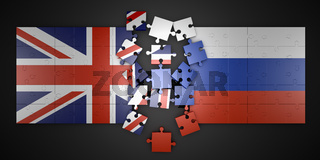 Puzzles Britain and Russia