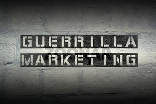 guerrilla marketing grad