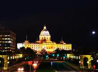 Minnesota capitol building in Saint Paul, MN