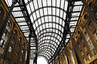 Hay's Galleria roof