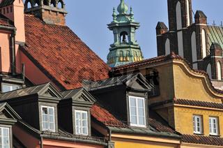 Schlossplatz, Altstadt Warschau