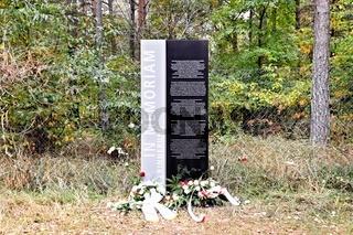 In Memoriam für die NS Opfer in Peenemünde