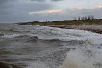 Sturmflut am Rysumer Nacken