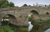 Roman bridge, Arcos, Portugal
