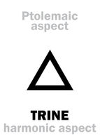 Astrology: TRINE (aspect)