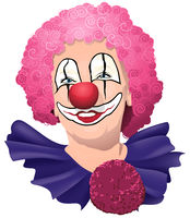 Happy Smiling and Funny Clown