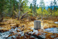 Travel titanium cup Beautiful Nature Norway.