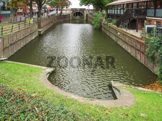 Schleusenbecken in Greetsiel