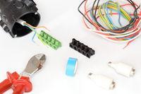 elektromaterial und werkzeuge