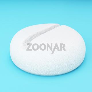 3d capsule pill.