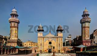 Facade of Wazir Khan Mosque, Lahore
