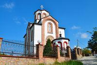 Vrsac town white church