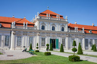 Lower Belvedere Palace in Vienna