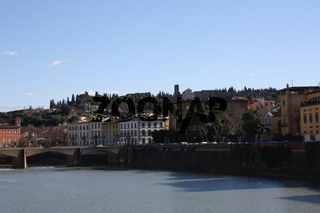 Florenz, Panorama mit Arno