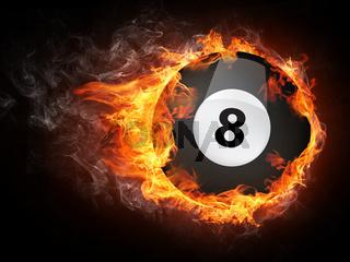 Pool Billiards Ball