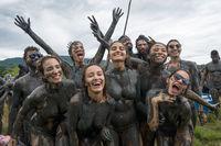 Bloco da Lama – Dirty Carnival in Paraty, Rio de Janeiro State, Brazil Carnival